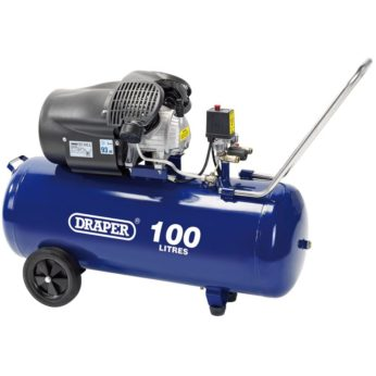 Draper 100lt Air Compressor