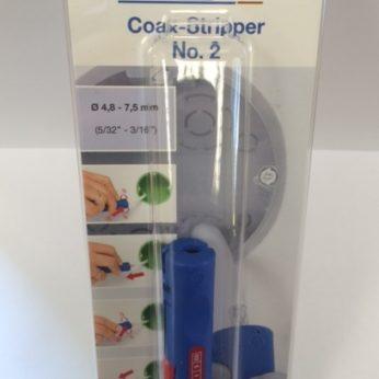 52000002 Weicon Coax Cable Stripper No.2