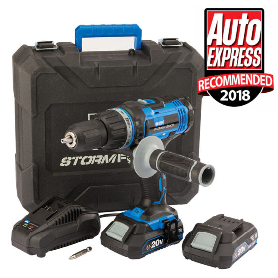 Draper Stormforce 20V Combi Drill